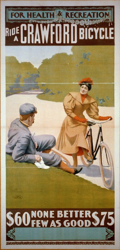 Ride a Crawford Bicycle (1896)
