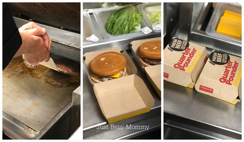 McDonalds fresh beef quarter pounder
