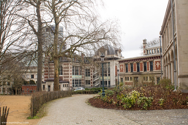 Parc Léopold, biblioteca