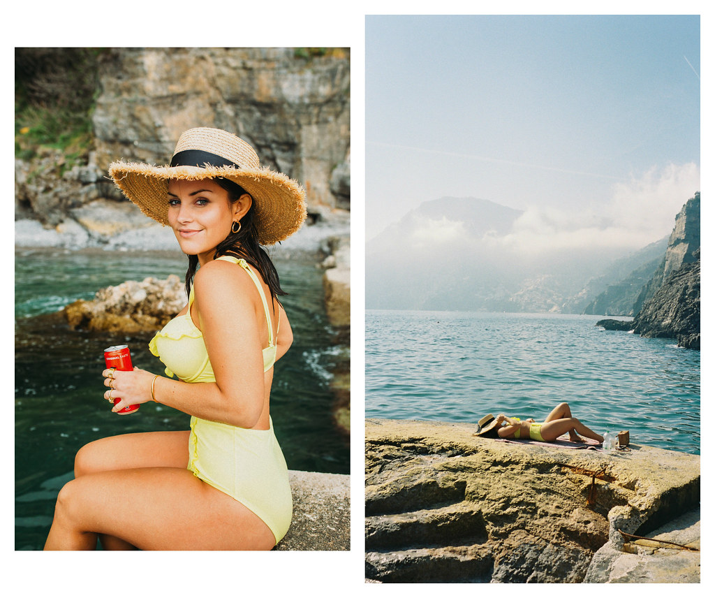 The Little Magpie Figleaves Swimwear Lookbook Italy Praiano Positano