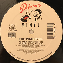 THE PHARCYDE:YA MAMA(LABEL SIDE-A)