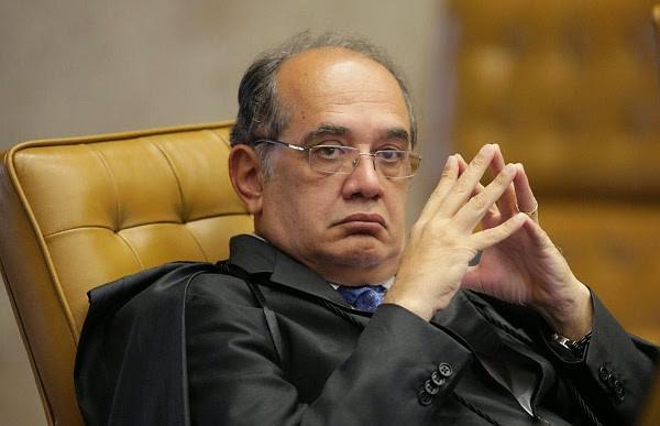 Para Gilmar Mendes,  parte dos seus colegas no STF vota sob a batuta do JN e da Folha - Créditos: EBCBr
