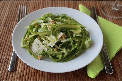 """""""Ribboned"""" Spargel Salat (nach einem Rezept von Smittens Kitchen)"""