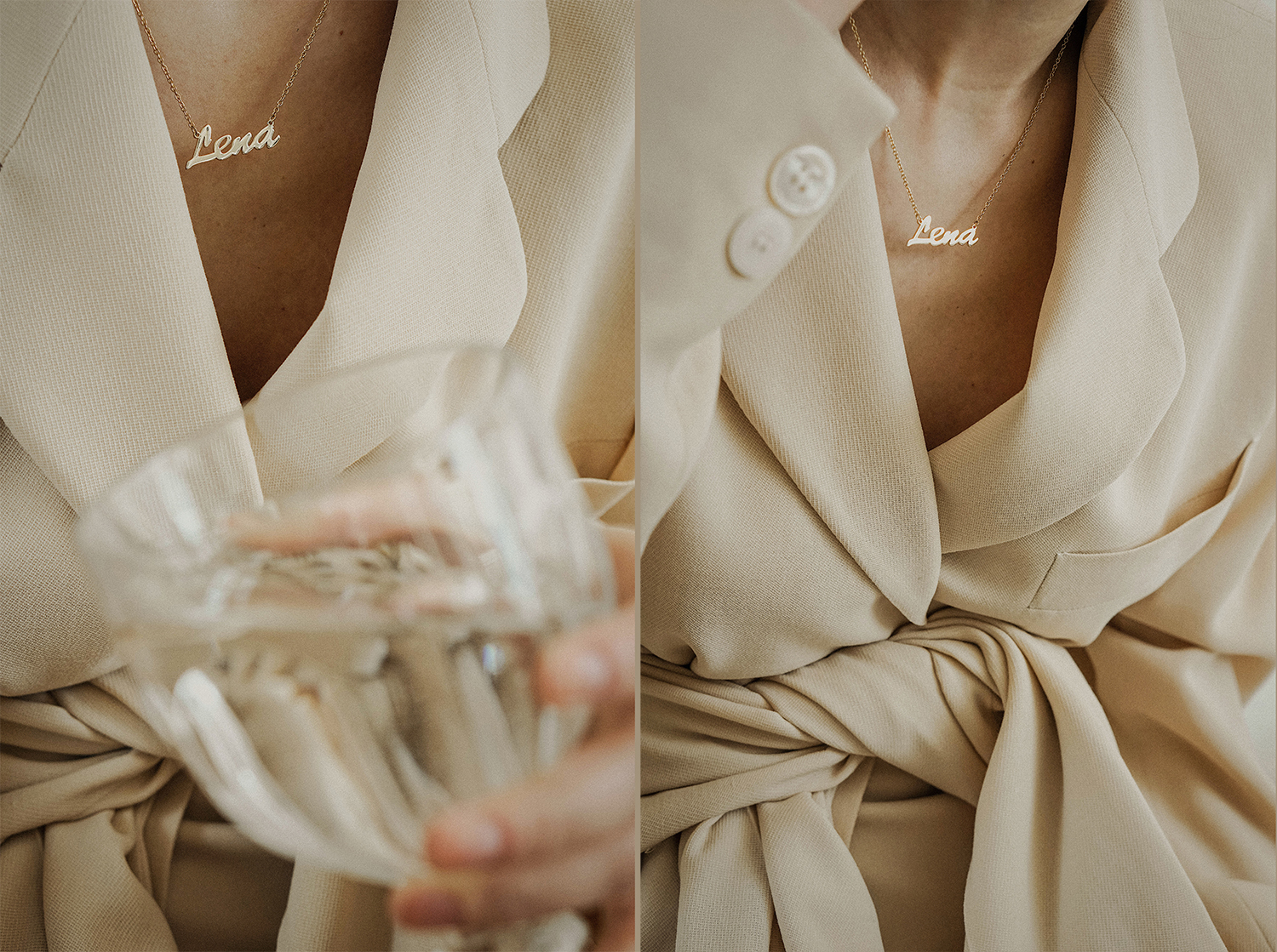 soufeel_name_necklace_nude_neutral_donna_karan_suit_fashion_style_lenajuice_thewhiteocean_02