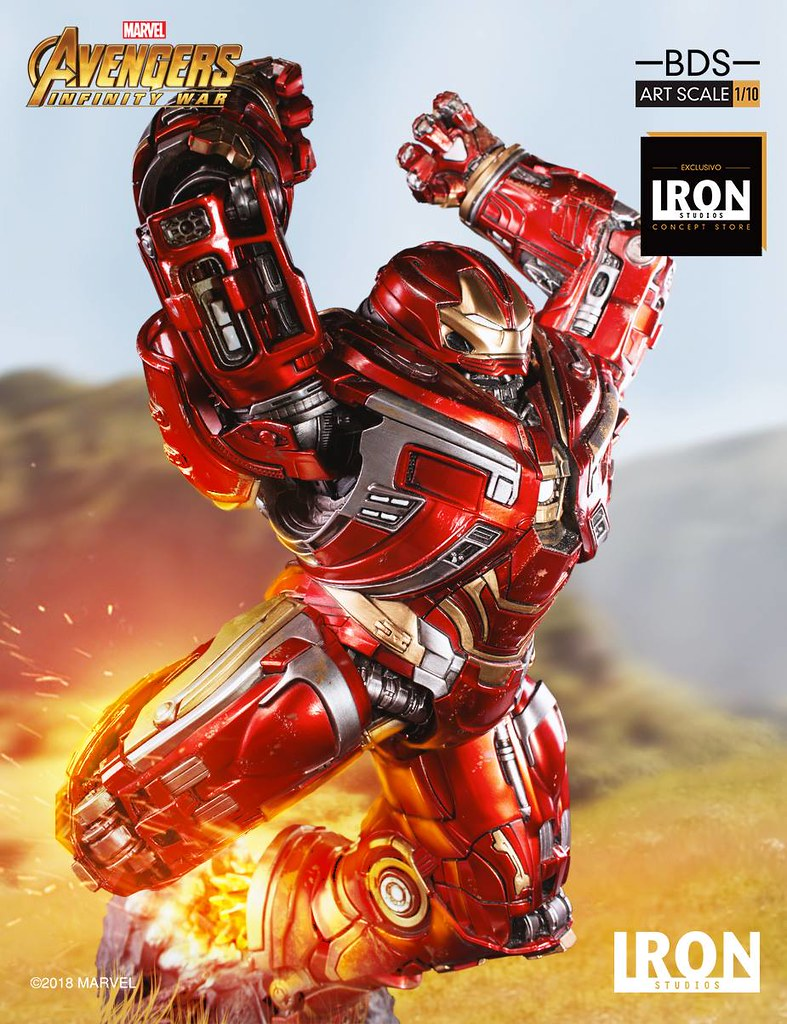 Hulkbuster Smash! Hulkbuster BDS Art Scale 1/10 – Avengers: Infinity War by Iron Studios