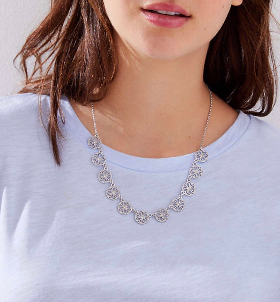 LOFT Filigree Necklace