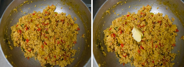Egg Bhurji cooking steps by GoSpicy.net