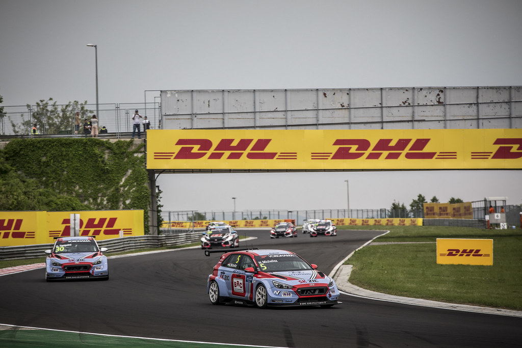 05 MICHELISZ Norbert (HUN), BRC Racing Team, Hyundai i30 N TCR, action during the 2018 FIA WTCR World Touring Car cup, Race of Hungary at hungaroring, Budapest from april 27 to 29 - Photo Gregory Lenormand / DPPI