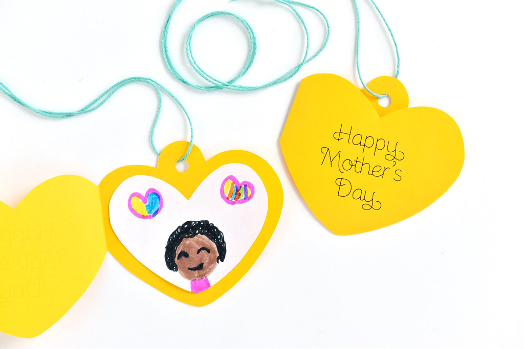 Mother's Day Locket Printable