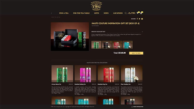 TWG eCommerce Website