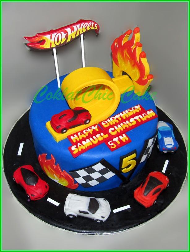 Cake HotWheels SAMUEL 20 cm