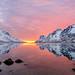 sunset in april by John A.Hemmingsen