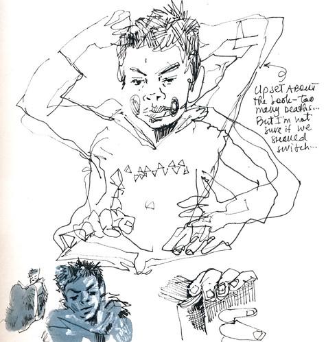 Sketchbook #113: Reading Time