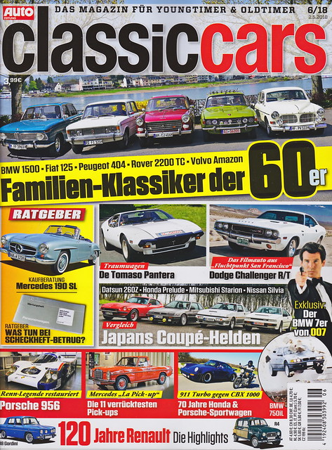Auto Zeitung - Classic Cars 6/2018