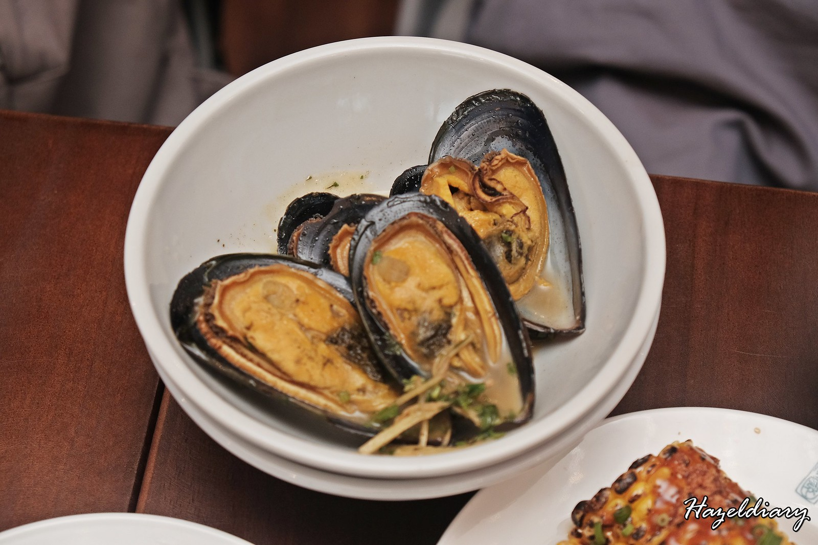 The Salted Plum Circular Road-Mussels