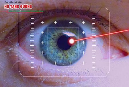 Laser có thể giúp tiêu diệt các mạch máu tăng sinh quá mức.