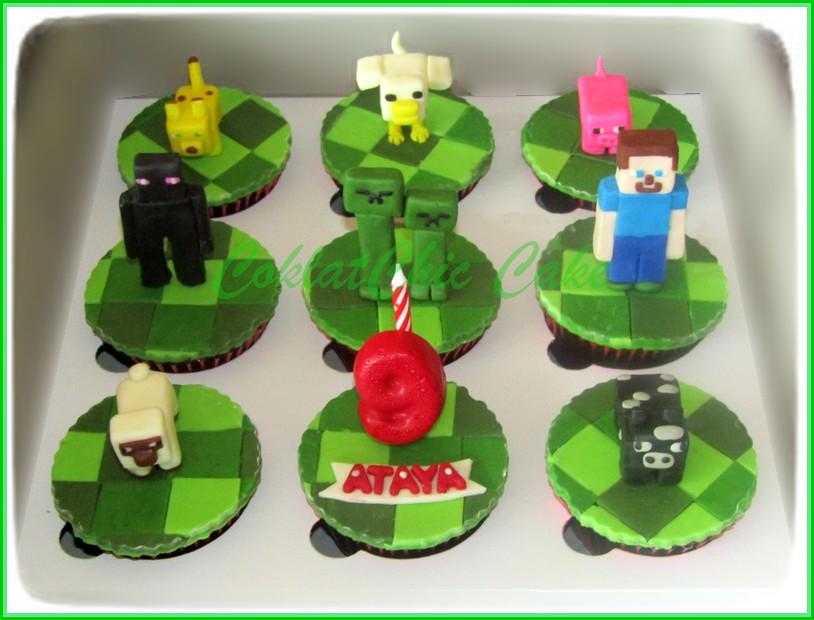 Cupcake Set Minecraft ATAYA