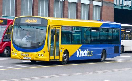 FJ03 VVP 'Kinchbus' No 603. Scania L94UB / Wright Solar on Dennis Basford's railsroadsrunways.blogspot.co.uk'