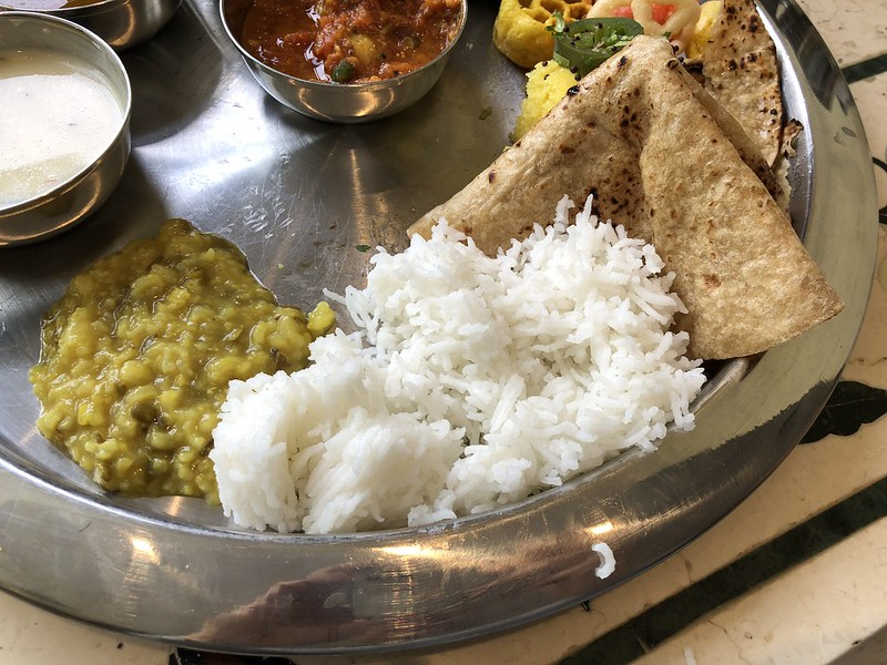 Rajdhani Thali Restaurant- Artesia, CA: Basmati Rice and Khichidi