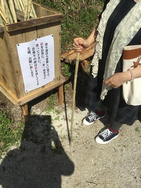 岩村 鶴瓶に乾杯で紹介された杖です♪ IMG_2718