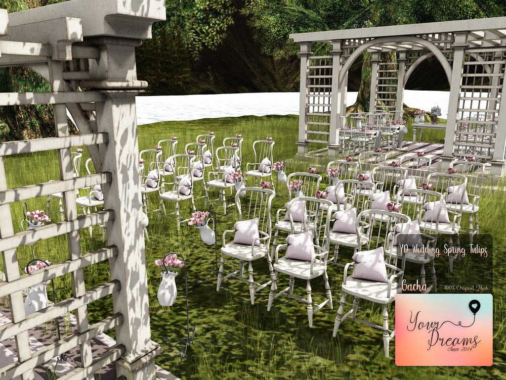 {YD} Wedding Spring Tulips - TeleportHub.com Live!