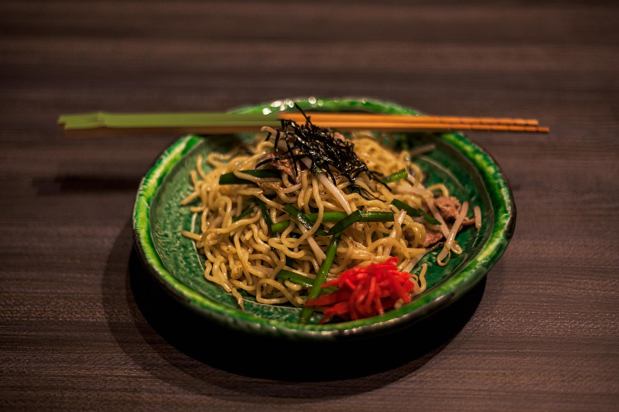 Garlic & Salt Yakisoba