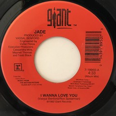 JADE:I WANNA LOVE YOU(LABEL SIDE-A)