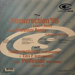 COMMON SENSE:RESURRECTION(JACKET B)