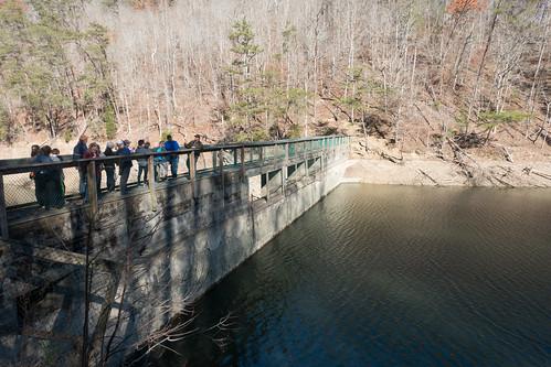 dam infrastructure landscape statepark outside bigridge