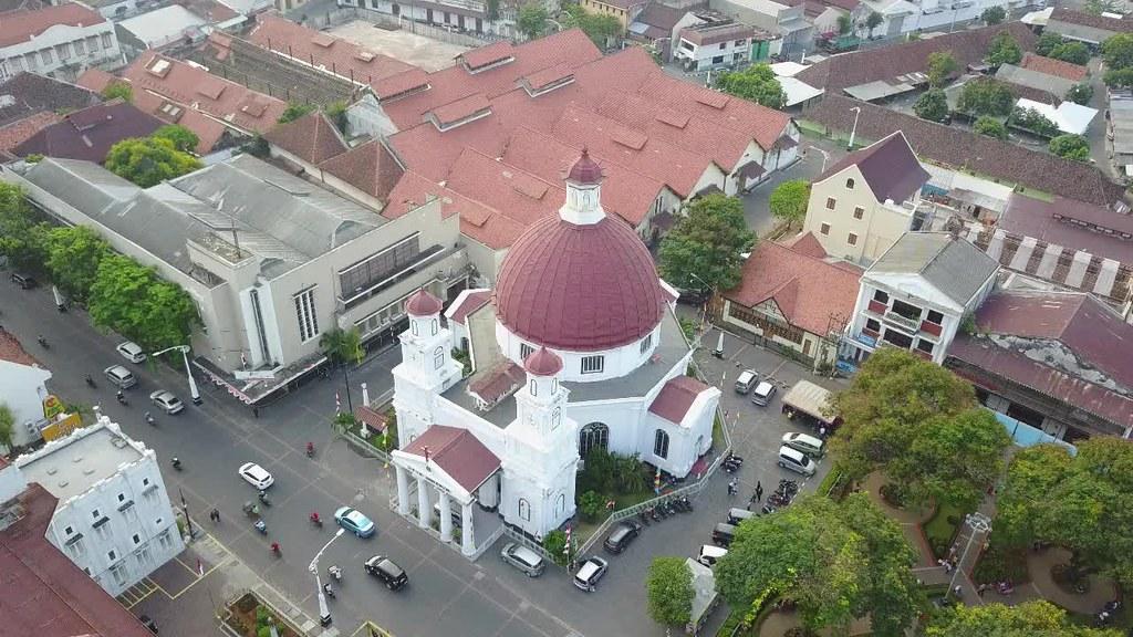 Blenduk Church, Kota Lama, Semarang