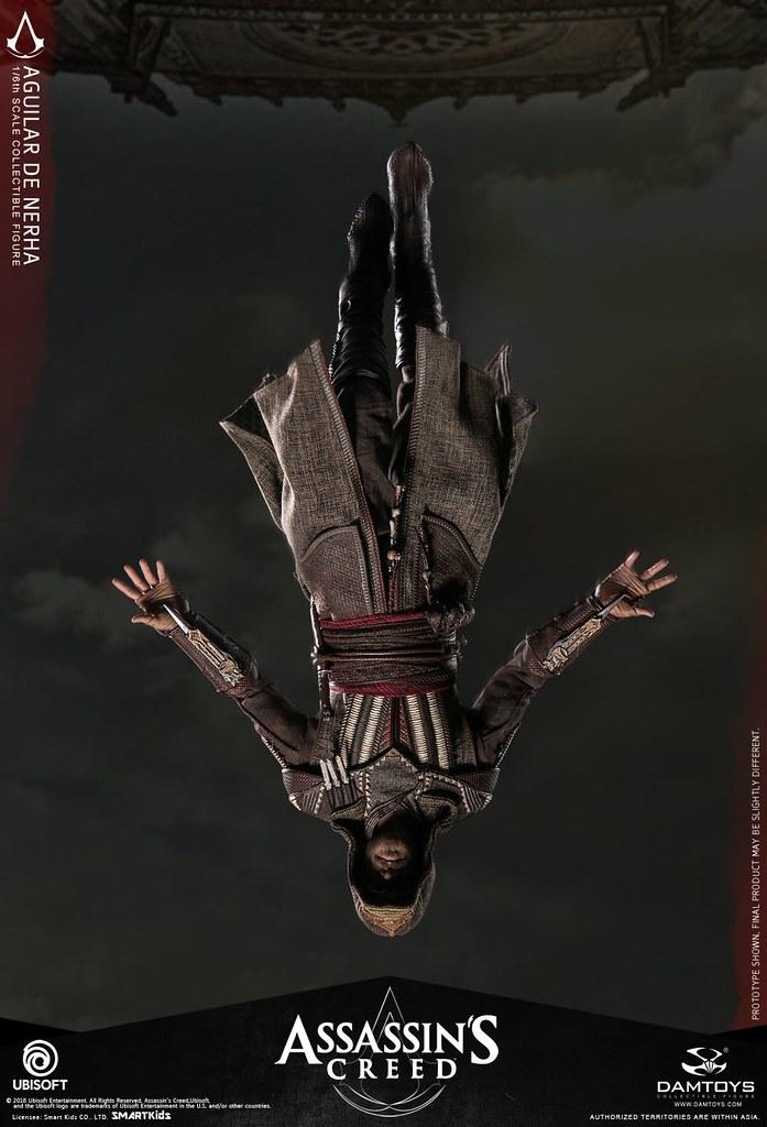 搭配地台重現「信仰之躍」!! DAMTOYS《刺客教條》阿吉拉爾 Aguilar 1/6 比例可動人偶作品