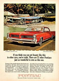 1964 Pontiac Parisienne Sport Coupe (Canada)