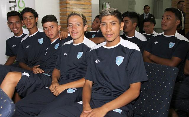Presentación Torneo Centroamericano y del Caribe de Fútbol Unificado de OE