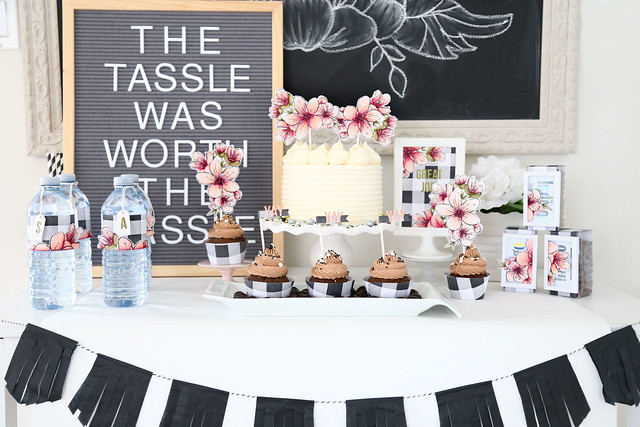 floral and plaid grad party (EBE May release sneak peek!)