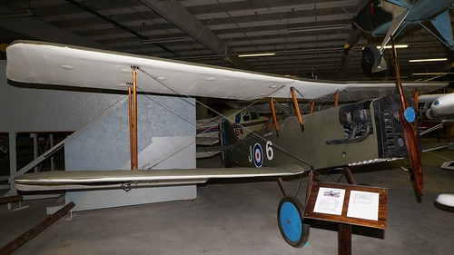midamerica museum airplane aviation aircraft aeroplane liberal kansas usa raf se5 replica n9322d air johnny comstedt