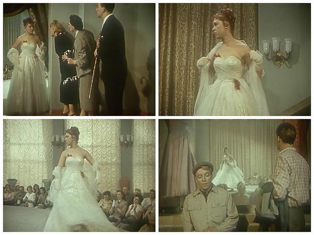 """Кадры из фильма """"Девушка без адреса"""" (1957)"""