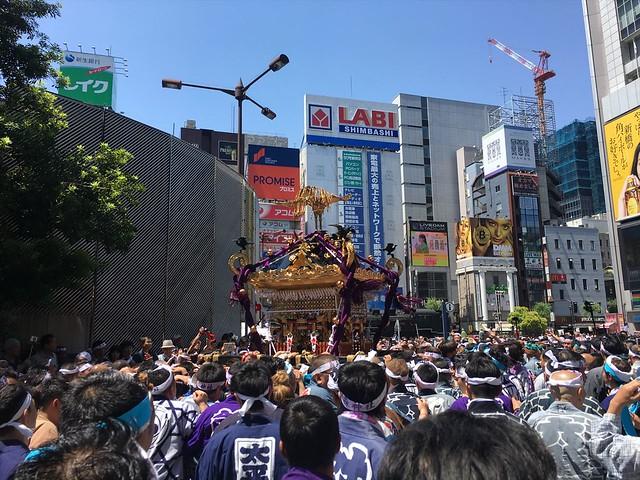烏森神社例大祭神輿