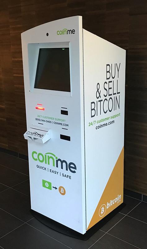 Bitcoin exchange machine
