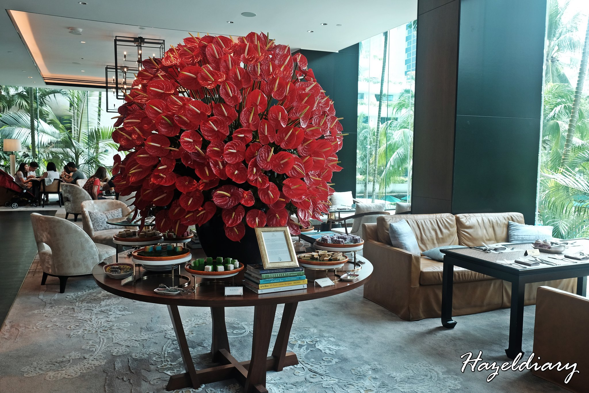 The Lobby Lounge Shangri La Hotel Singapore