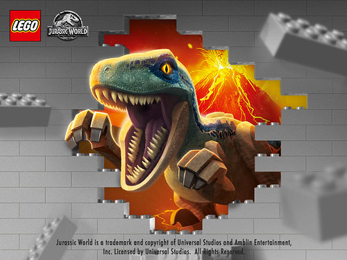 Rebrick Iconically Jurassic World Contest