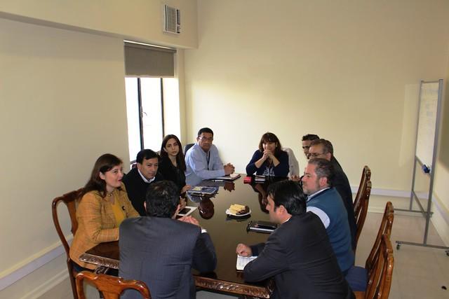 Frente de Defensa ANEF con subsecretario de las Fuerzas Armadas (09-05-2018)