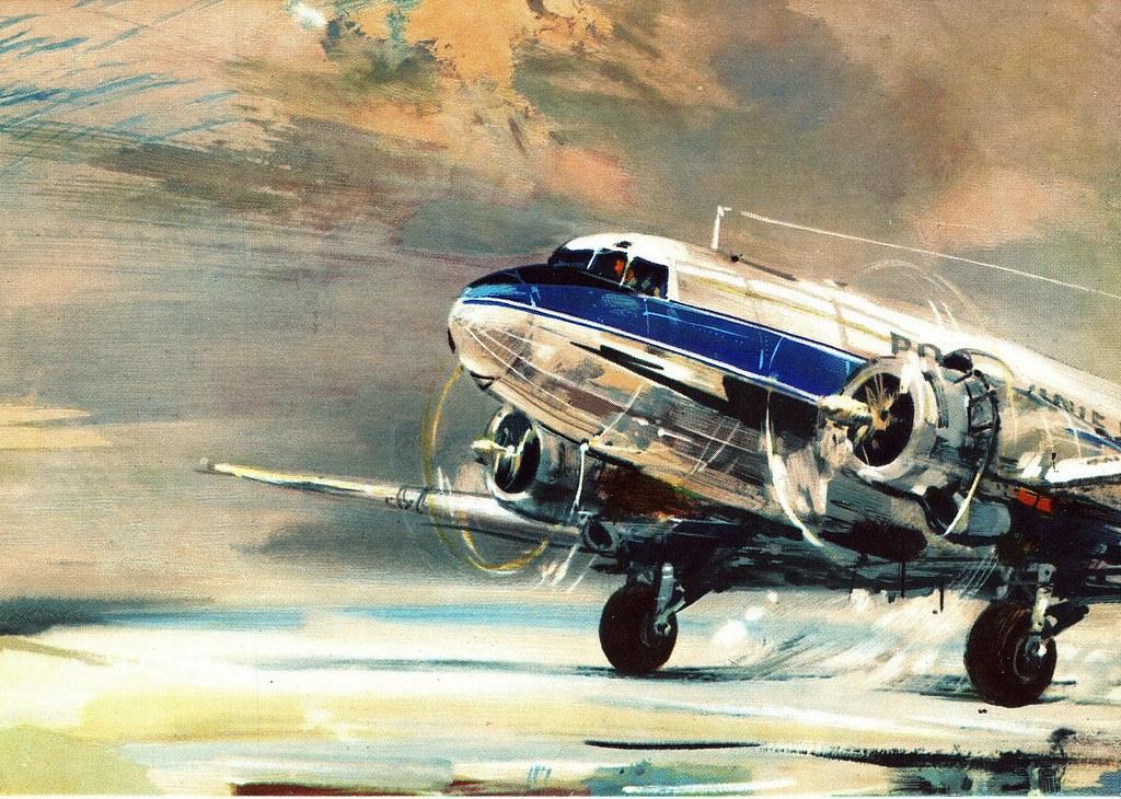 Janusz Grabiański - LOT - Polish Airlines - Lisonov Li-2