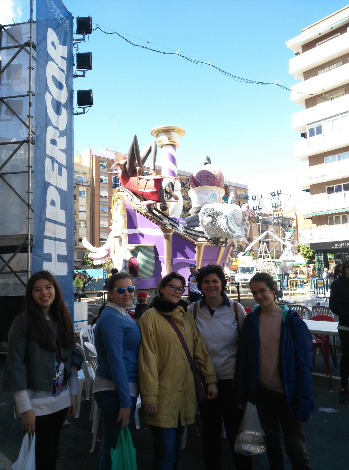 Pre-Fallas en Valencia