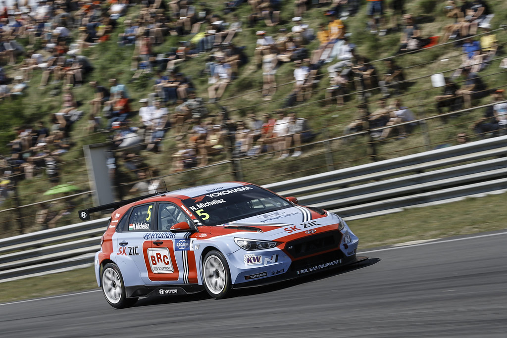 05 MICHELISZ Norbert, (hun), Hyundai i30 N TCR team BRC Racing, action during the 2018 FIA WTCR World Touring Car cup of Zandvoort, Netherlands from May 19 to 21 - Photo Jean Michel Le Meur / DPPI