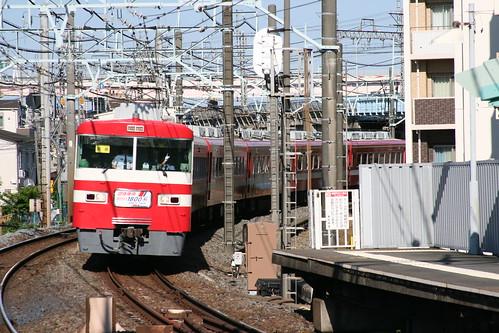 Tobu 1800 series in Ushida.Sta, Adachi, Tokyo, Japan /May 20, 2018