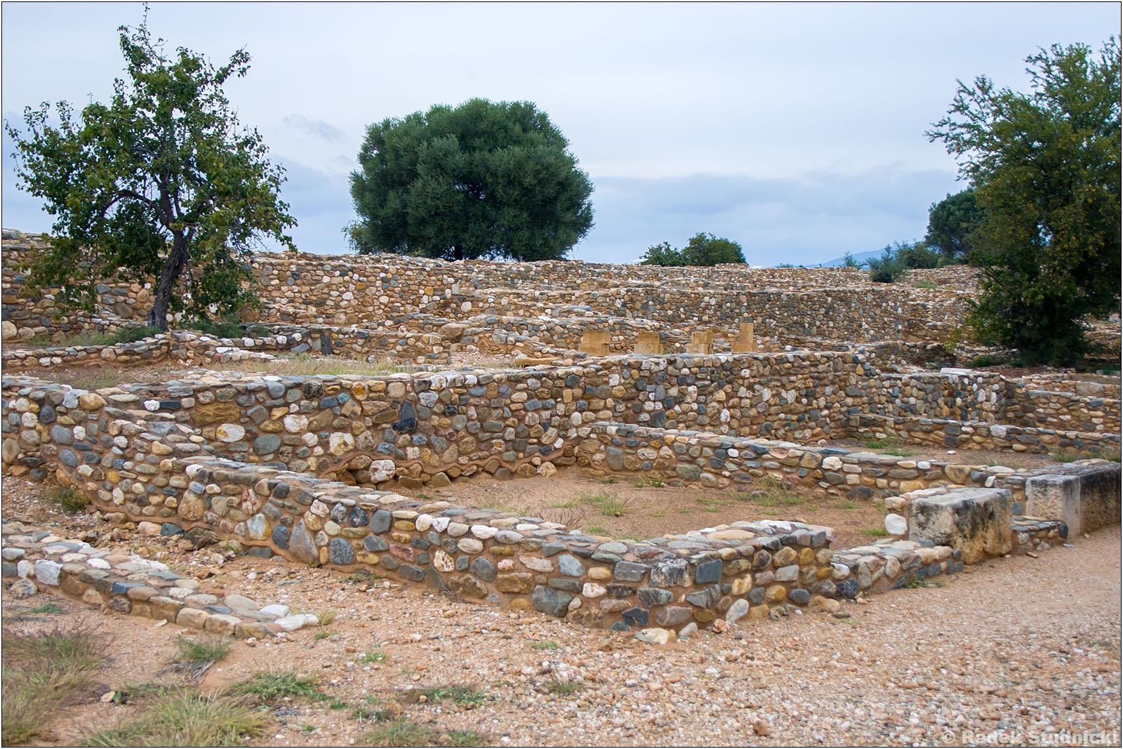Ruiny starożytnego Olintu