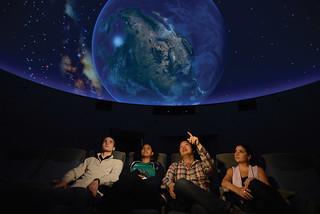 The new planetarium in Millikan Hall, December 10, 2015.