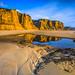 Vale Furado beach and  Canyon, Alcobaça. by silvinodasilvaphotography
