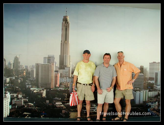 Drie bandieten in Bangkok
