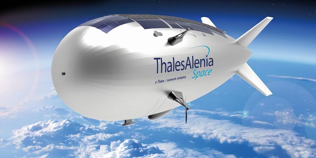 Stratobus : Thales Alenia Space participera à l'élaboration du dirigeable français